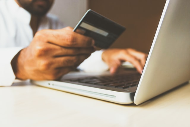 Can you use two credit cards online?